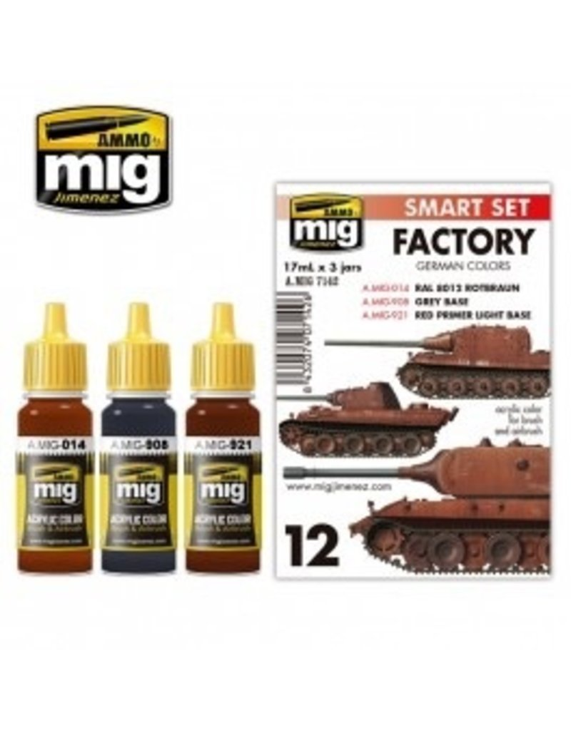 AMMO: of Mig Jimenez DIRECT A.MIG-7142 Acrylic Color Sets 3 pcs