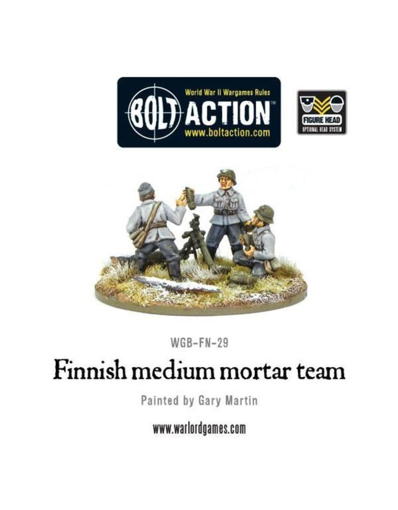 Bolt Action Finnish medium mortar team
