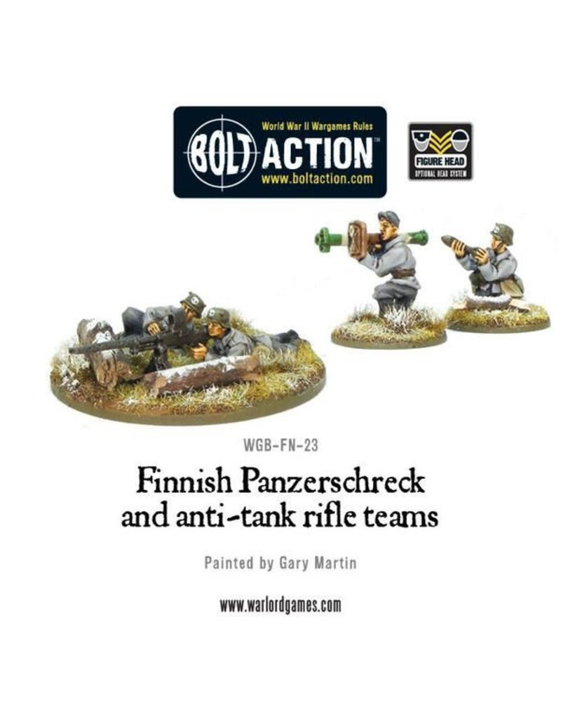 Bolt Action Finnish Panzerschreck and anti-tank rifle teams