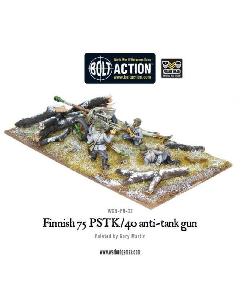 Bolt Action Finnish 75 PSTK/40 anti-tank gun