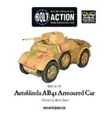 Bolt Action BA Italian Army: Autoblinda AB41 Armoured Car