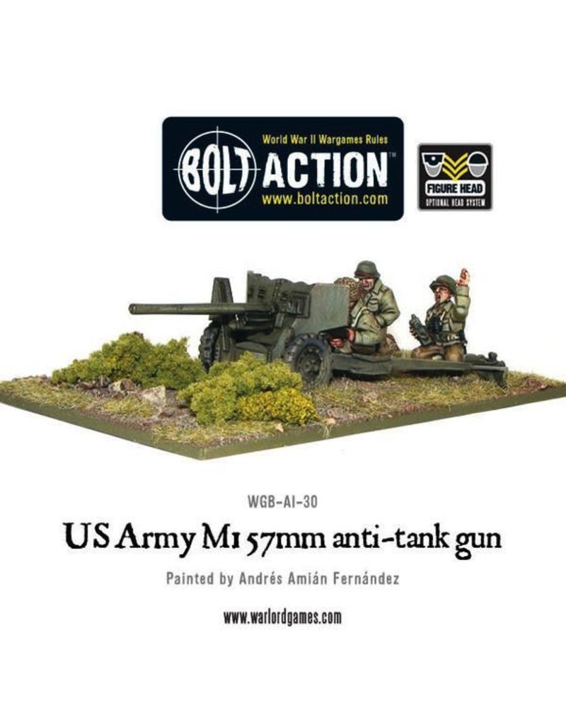 Bolt Action BA American Army: 57mm Anti-Tank Team