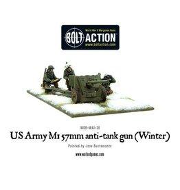 Bolt Action BA American Army: 57mm Anti-Tank Gun M1 (Winter)
