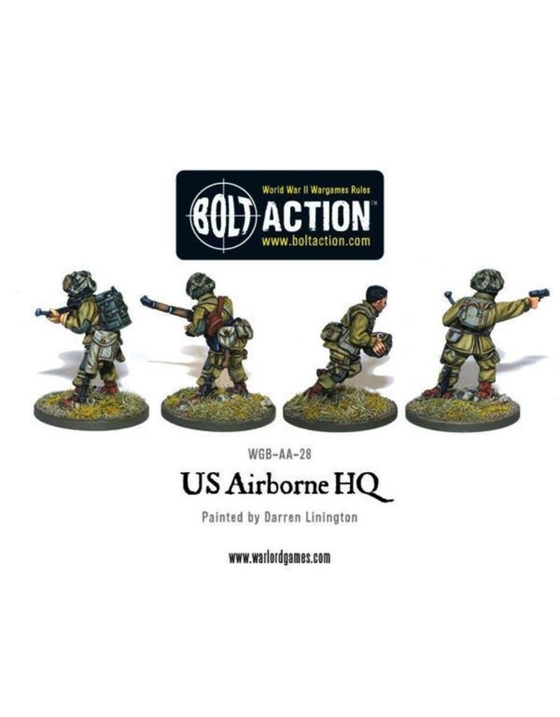 Bolt Action BA American Army: US Airborne HQ