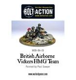 Bolt Action BA British Army: Para Vickers HMG & Crew