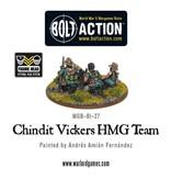 Bolt Action BA British Army: Chindit Vickers HMG & Crew