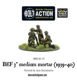 "Bolt Action BA British Army: BEF 3"" Medium Mortar (1939-40)"