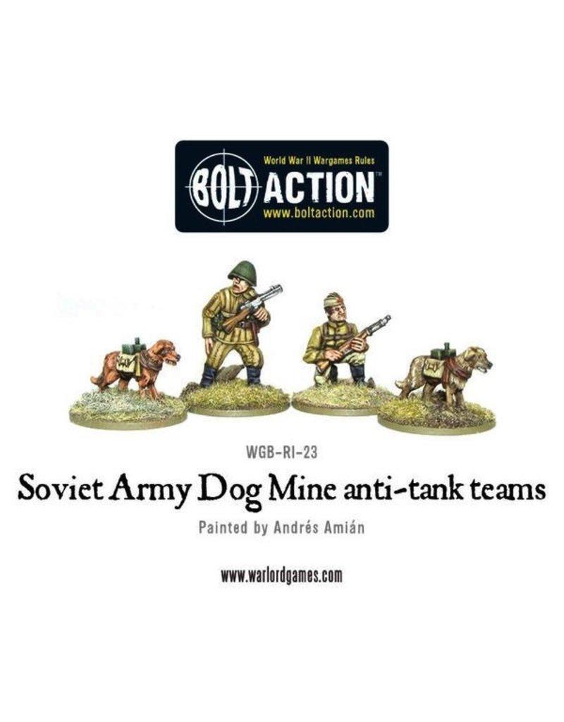 Bolt Action BA Soviet Army: Anti-Tank Dog Teams