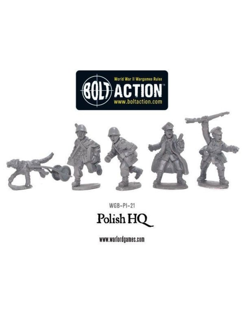 Bolt Action BA Polish Army: HQ