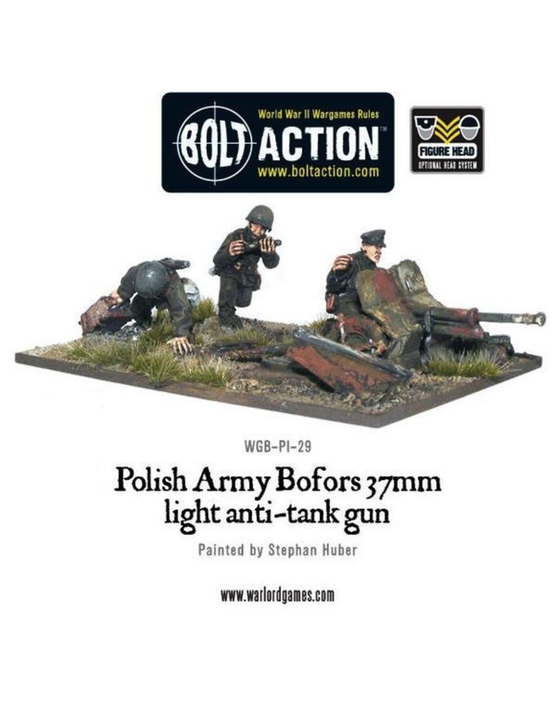 Bolt Action BA Polish Army: Bofors 37mm Anti-Tank Gun