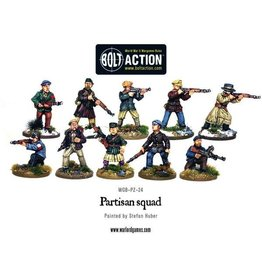 Bolt Action BA Partisans (8)