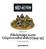 Bolt Action BA German Army: Fallschirmjager 10.5cm LG40/1 Recoilless Artillery