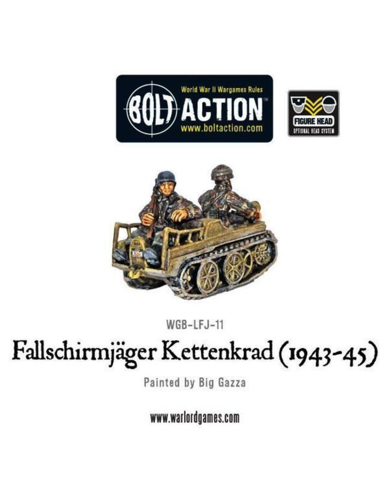 Bolt Action BA German Army: Fallschirmjager Kettenkrad (1943-45)
