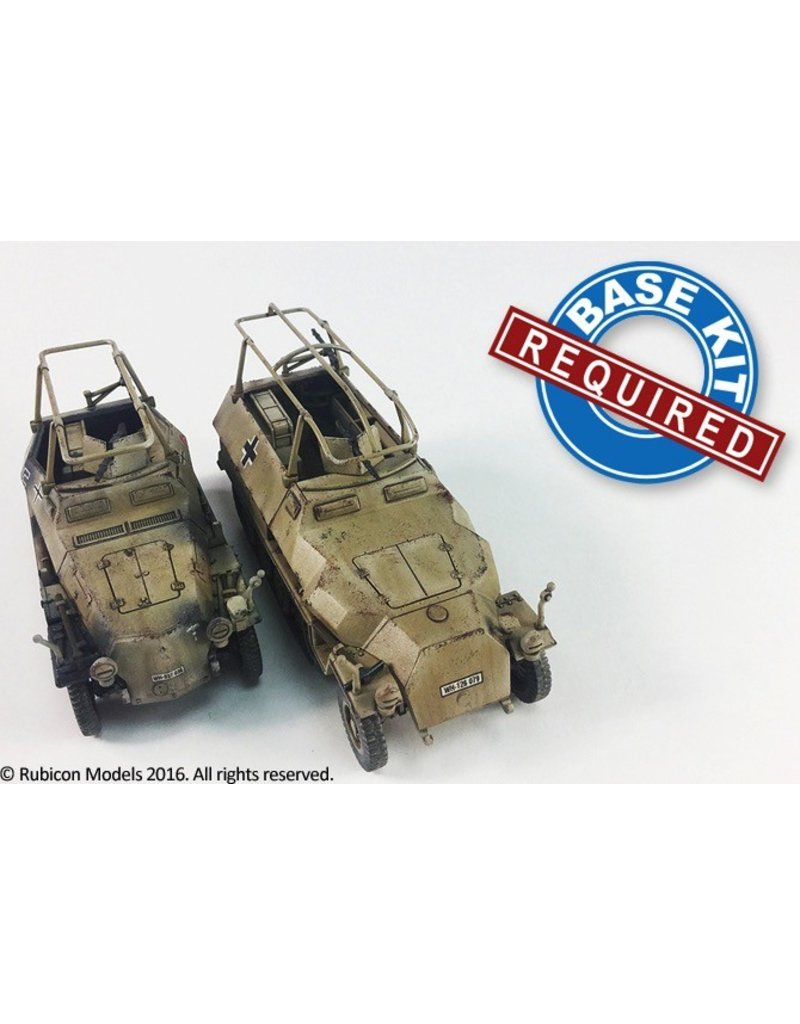 Rubicon Models 28mm Rubicon Models: SdKfz 250/3 and 251/3 EXPANSIONT KIT ONLY
