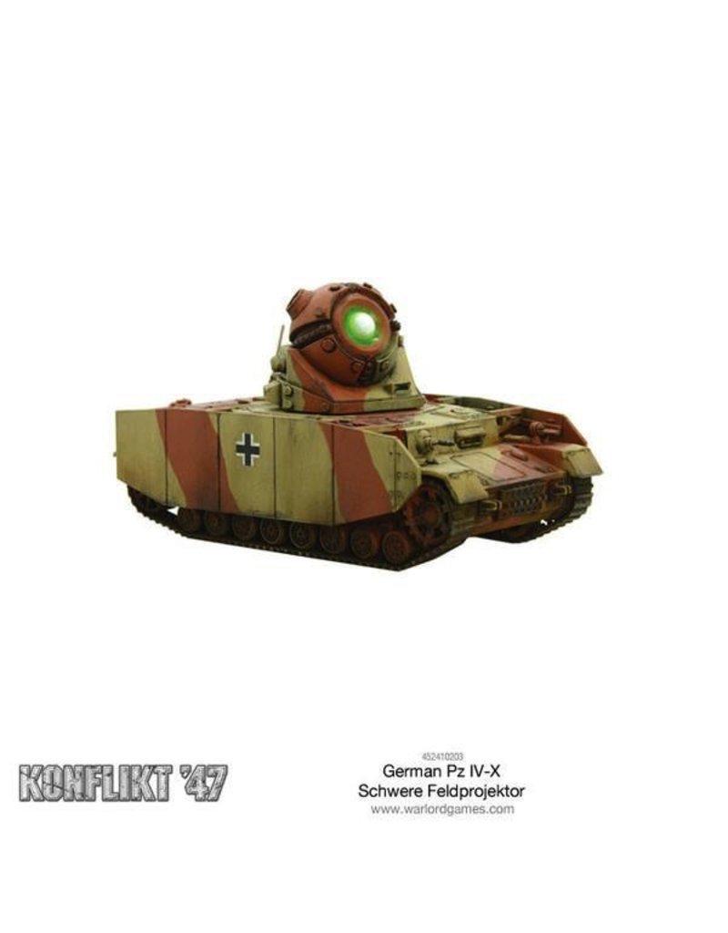 Bolt Action German Pz IV-X
