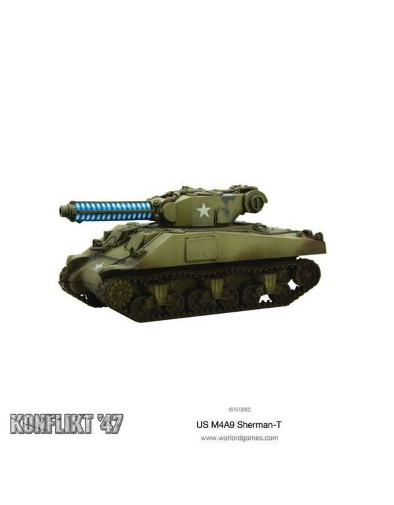 Bolt Action M4A9-T Sherman with Tesla Cannon
