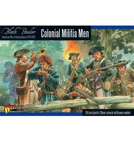 Warlord Games BP AWI: Colonial Militia Men (30)