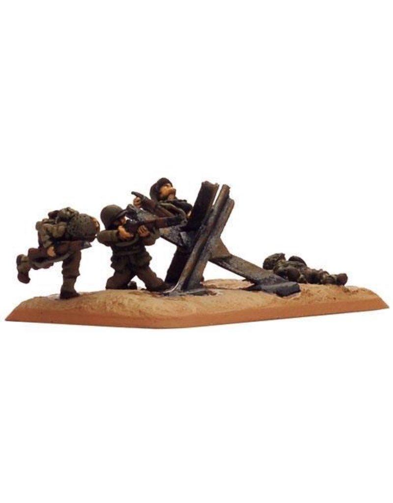 Flames of War XX702 Tank traps