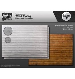 Plast Craft 28mm Scenery Compliments: Wooden Flooring