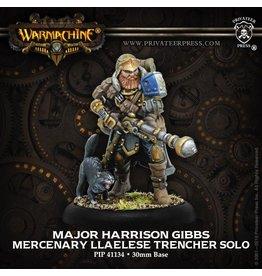 Warmachine Hordes\ PIP41134 Mercenaries: Major Harrison Gibbs Llaelese