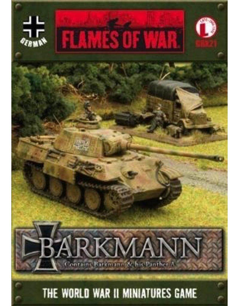 Flames of War GBX21 German Ernst Barkmann