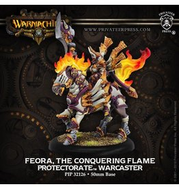 Warmachine Hordes\ PIP32126 Protectorate: Feora, The Conquering Flame
