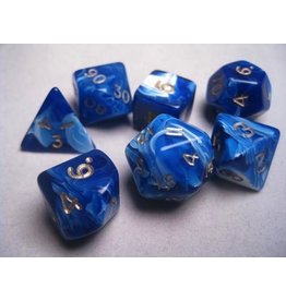 Mystic Keeper Mystic Keeper Gaming Dice: Soulcage Blue Polyhedral Set (7)