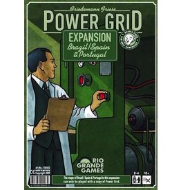 Rio Grande Games Power Grid: Brazil/Spain & Portugal