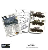 Bolt Action BA Soviet Army: KV-1/KV-2 Heavy Tank