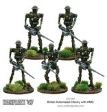 Bolt Action British Automated Infantry with HMG