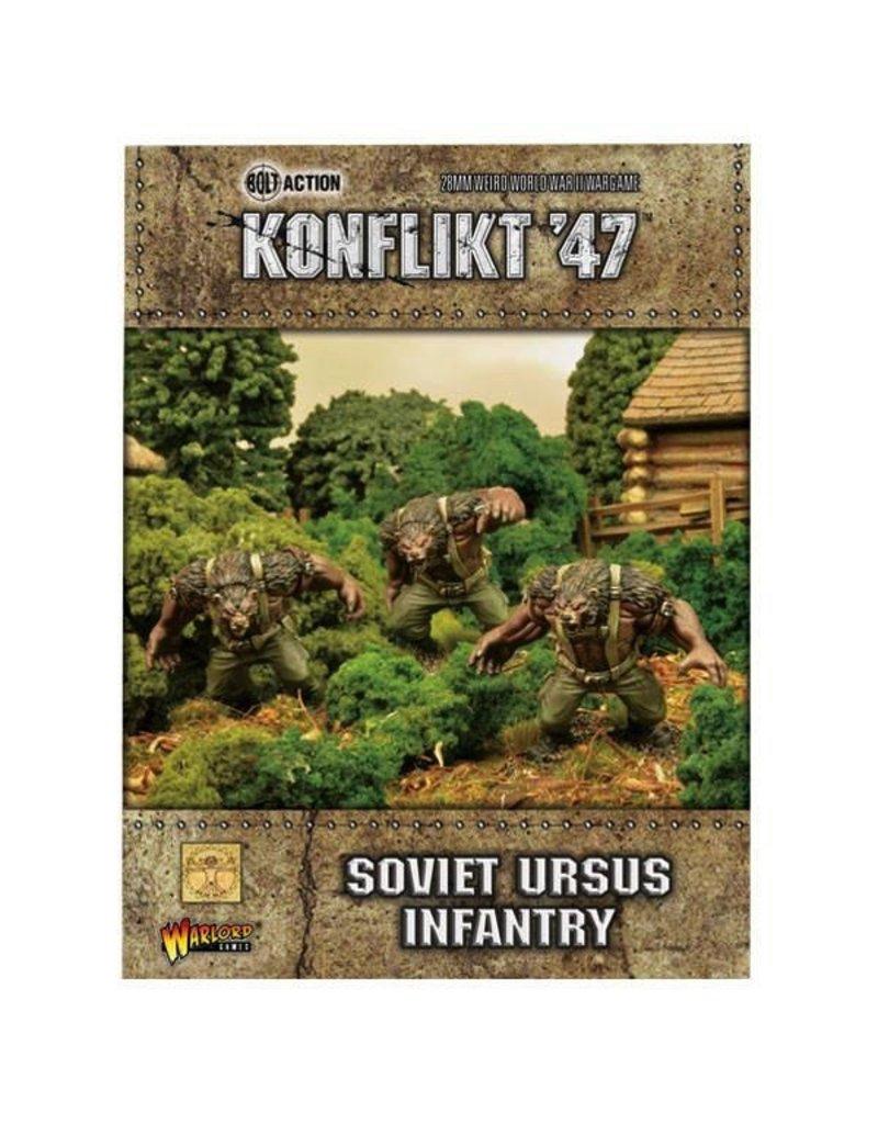 Bolt Action Soviet Ursus Infantry