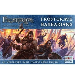 Northstar Miniatures Northstar Miniatures: Frostgrave - Barbarians