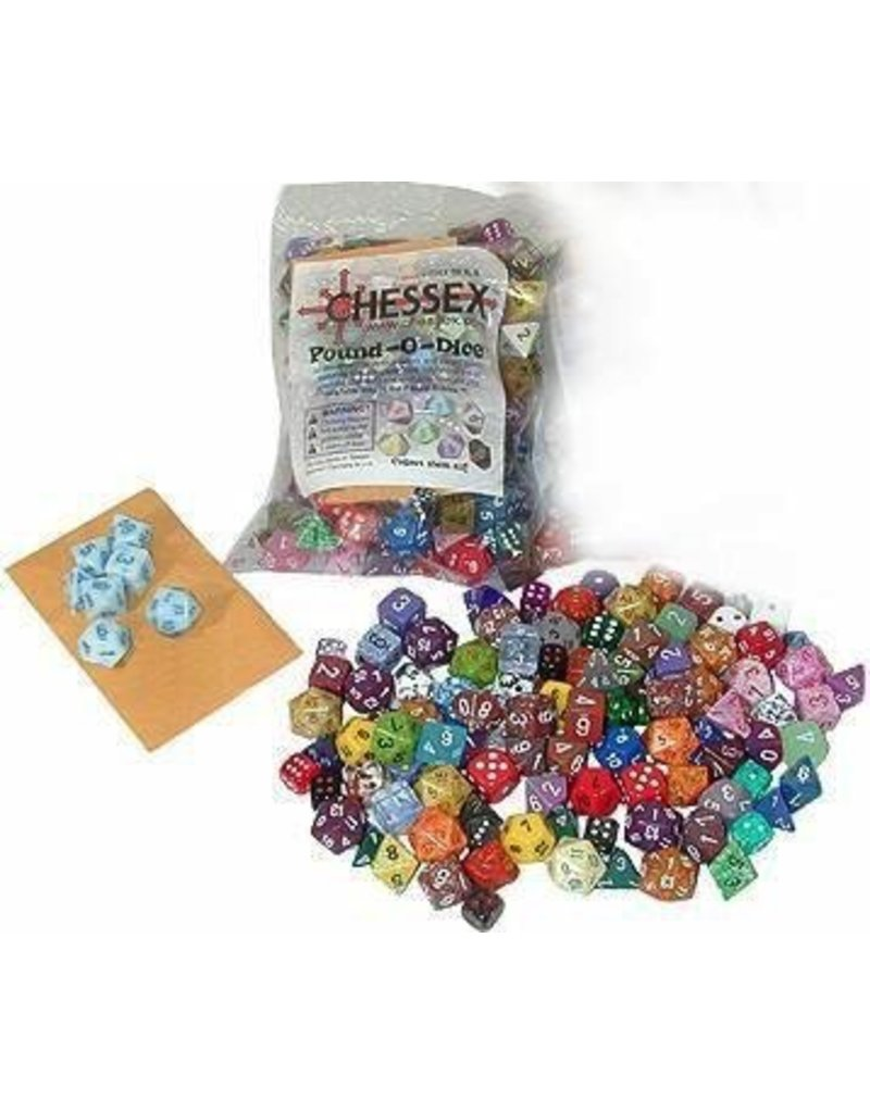 Chessex CHX001LB Pound of Dice
