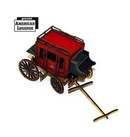 4Ground Miniatures DIRECT 28mm Terrain: Stagecoach