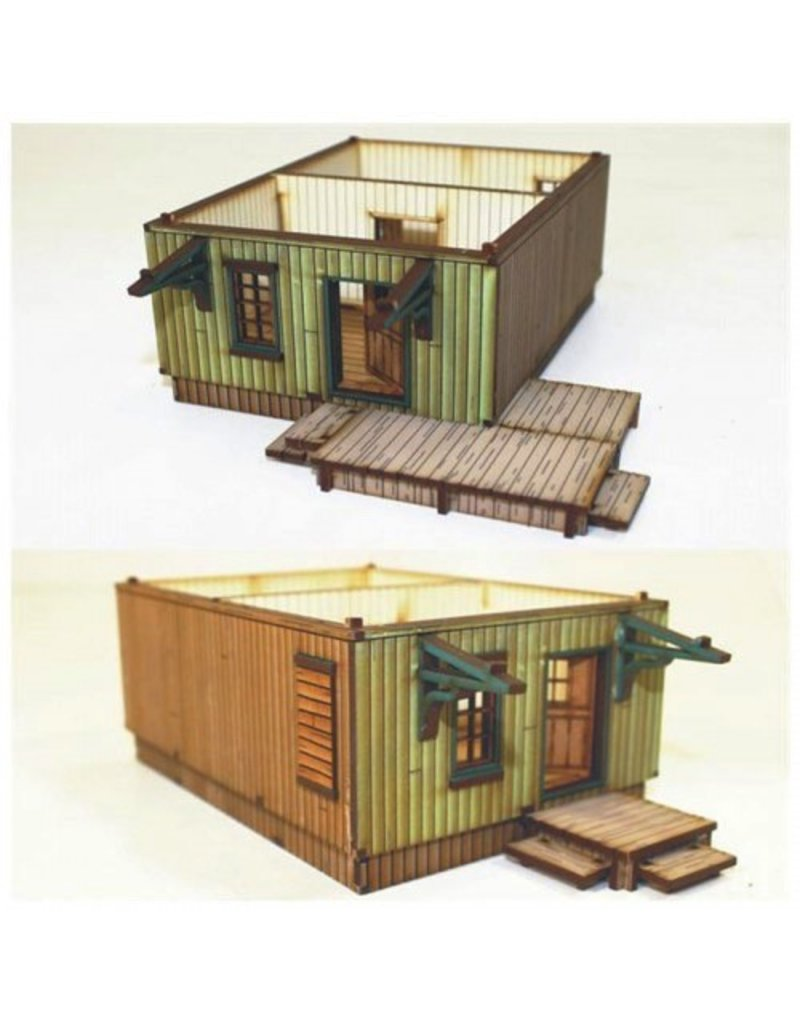 4Ground Miniatures DIRECT 28mm Dead Man's Hand: Side Street Building 1