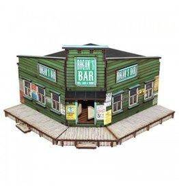 4Ground Miniatures DIRECT 28mm Dead Man's Hand: Rogan's Bar