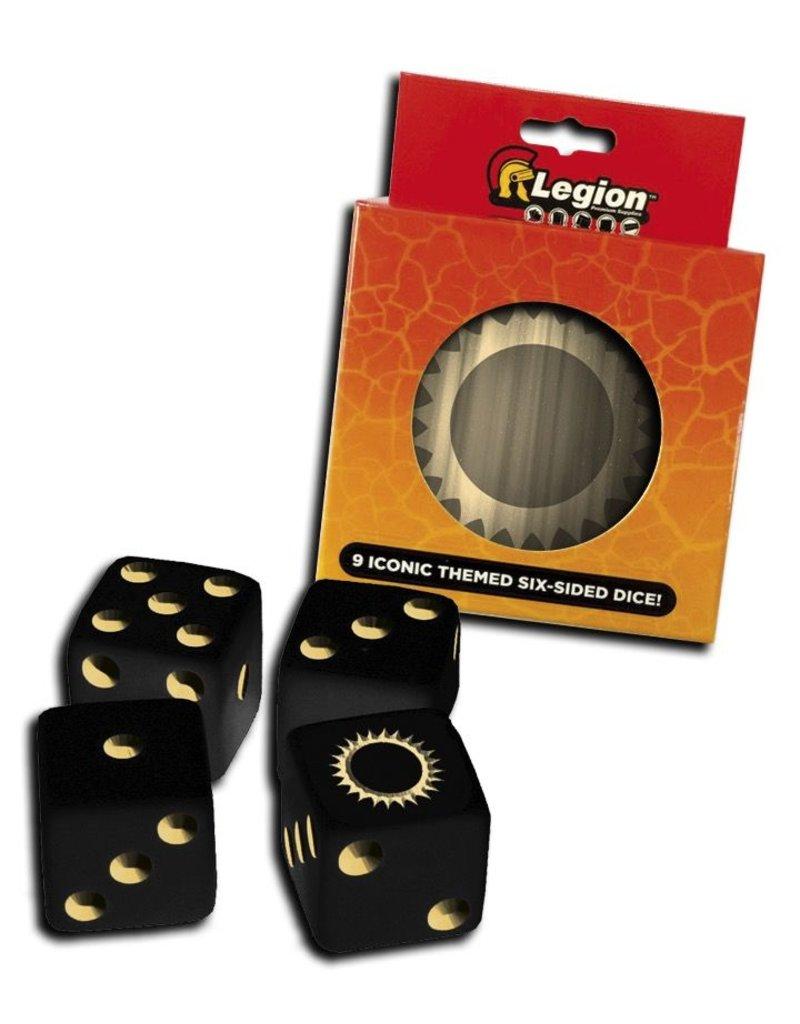 Legion Premium Gaming Supplies Iconic Dice Tins: Sun (9)
