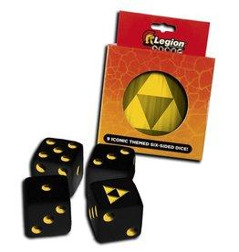 Legion Premium Gaming Supplies Iconic Dice Tins: Tri-Force (9)