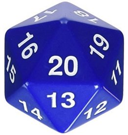 Koplow d20 55mm Blue (Bagged)