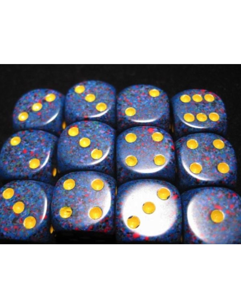 Chessex CHX25766 16mm d6 Speckled Twilight