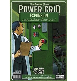 Rio Grande Games Power Grid Expansion: India/Australia