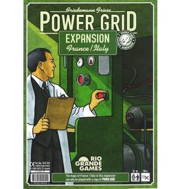 Rio Grande Games Power Grid Expansion: Italy & France