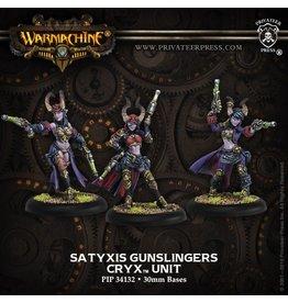 Warmachine Hordes\ PIP34132 Cryx: Satyxis Gunslingers Unit