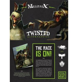 Wyrd miniatures WYR21049 Twisted: The Tortoise and the Hare