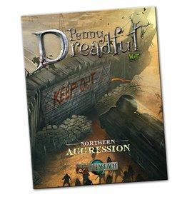 Wyrd miniatures WYR30202 Through the Breach RPG: Penny Dreadful - Northern Aggression