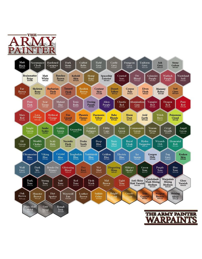 Army Painter WP1425 Army Painter: Warpaints Dark Stone 18ml