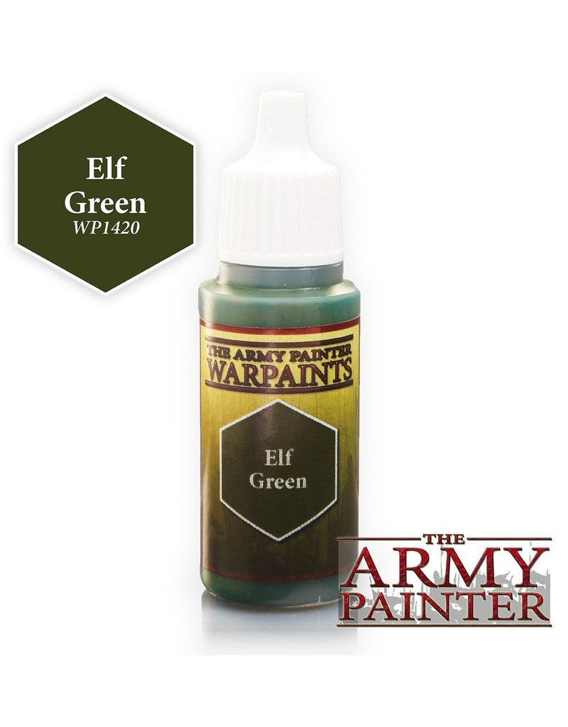 Army Painter WP1420 Army Painter: Warpaints Elf Green 18ml