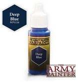 Army Painter WP1116 Army Painter: Warpaints Deep Blue 18ml