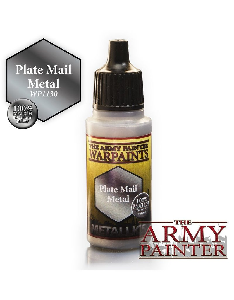 Army Painter WP1130 Army Painter: Warpaints Plate Mail Metal 18ml