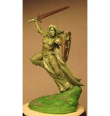 Dark Sword Miniatures VIF Female Paladin with Sword or Morning Star